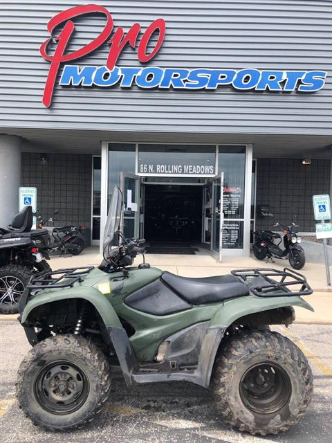 2012 Honda FourTrax® Rancher® 4x4 ES in Fond Du Lac, Wisconsin