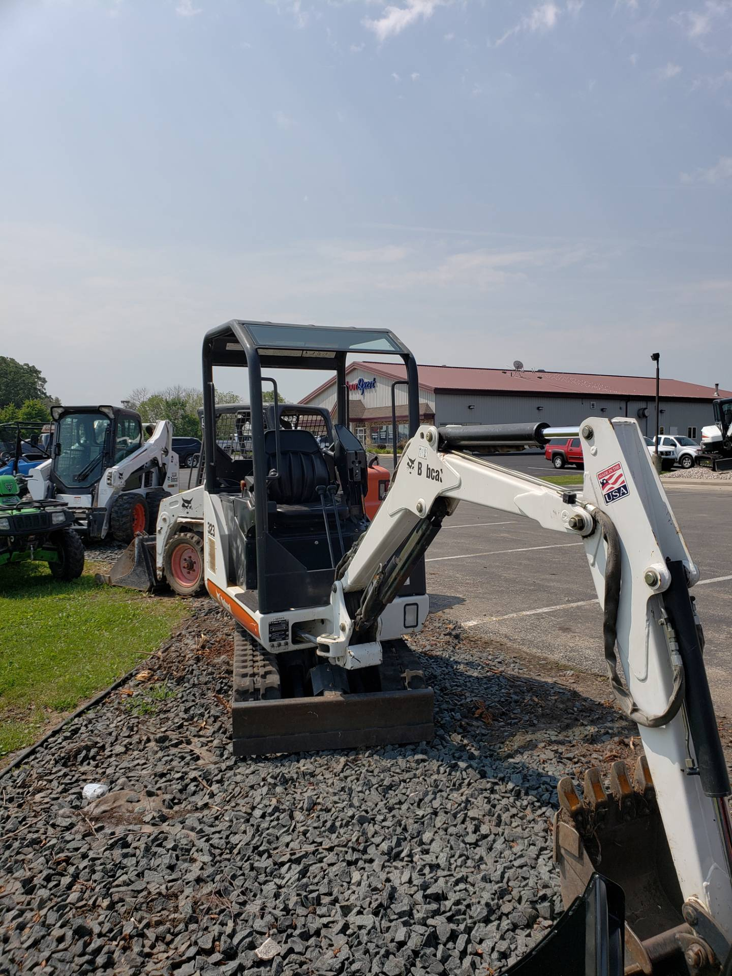 2007 Bobcat 323 in Fond Du Lac, Wisconsin