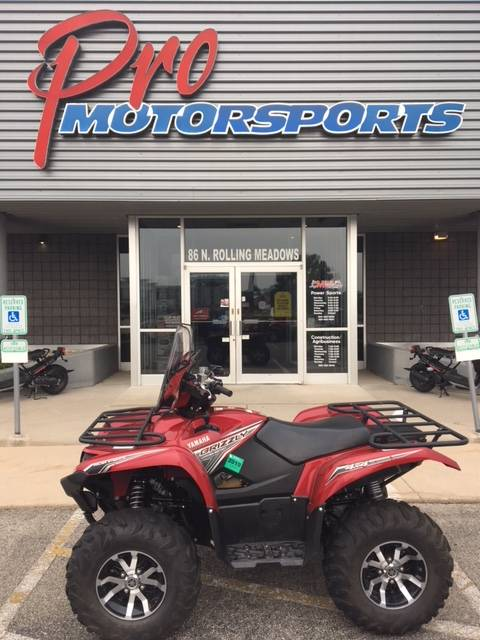 2017 Yamaha Grizzly EPS LE in Fond Du Lac, Wisconsin