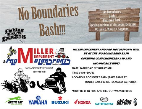 No Boundaries Bash!!