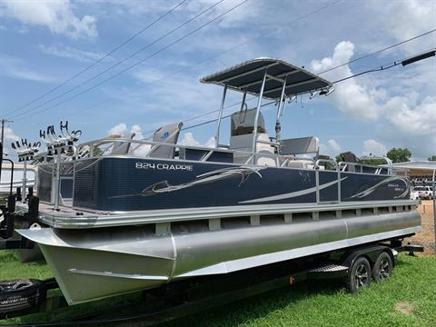 2019 Angler Qwest 824 CRAPPIE PONTOON in Greenwood, Mississippi - Photo 2