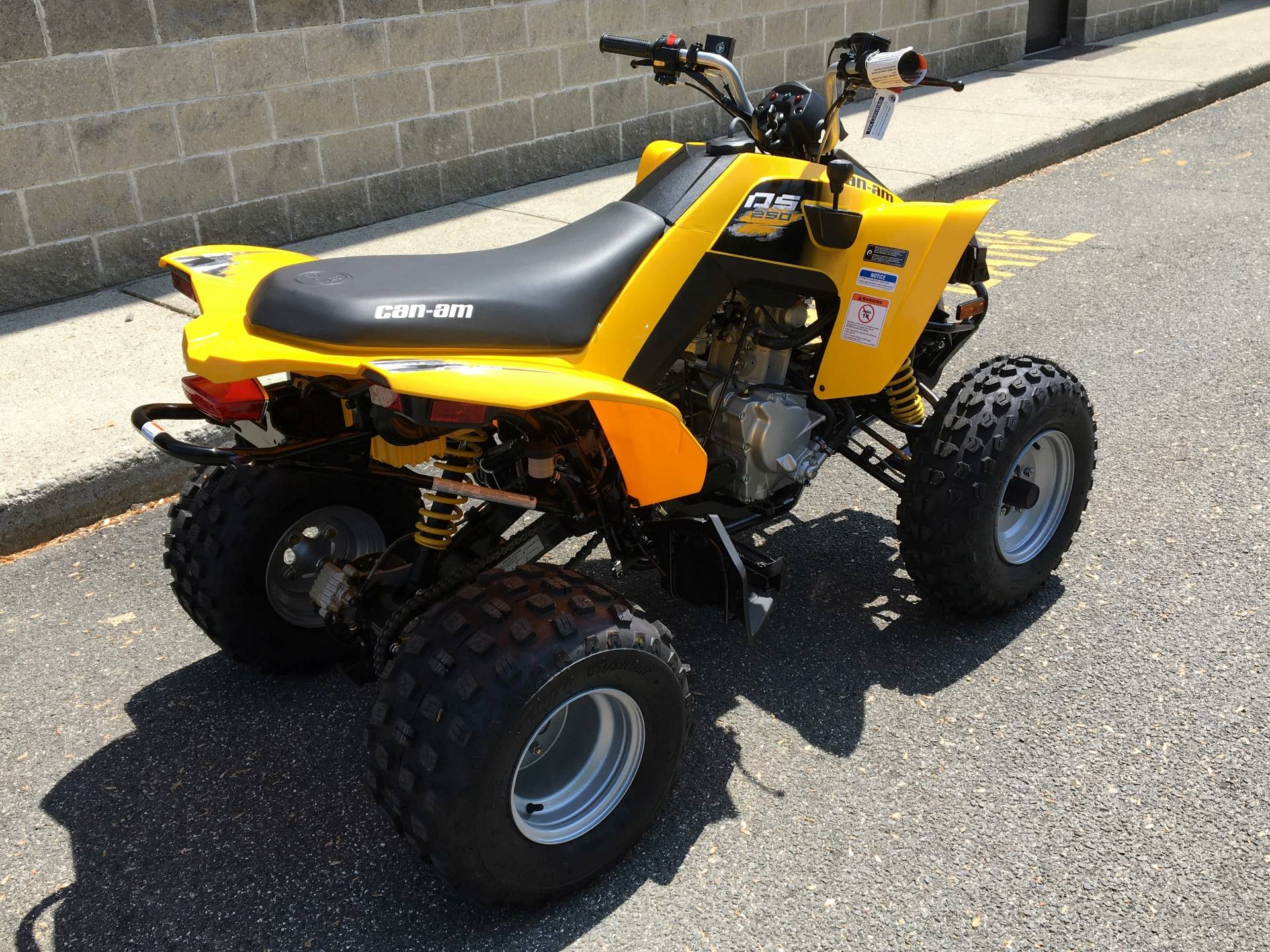 2018 Can-Am DS 250 in Enfield, Connecticut