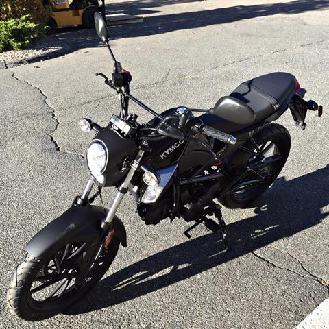 2017 Kymco K-Pipe 125 in Black in Enfield, Connecticut