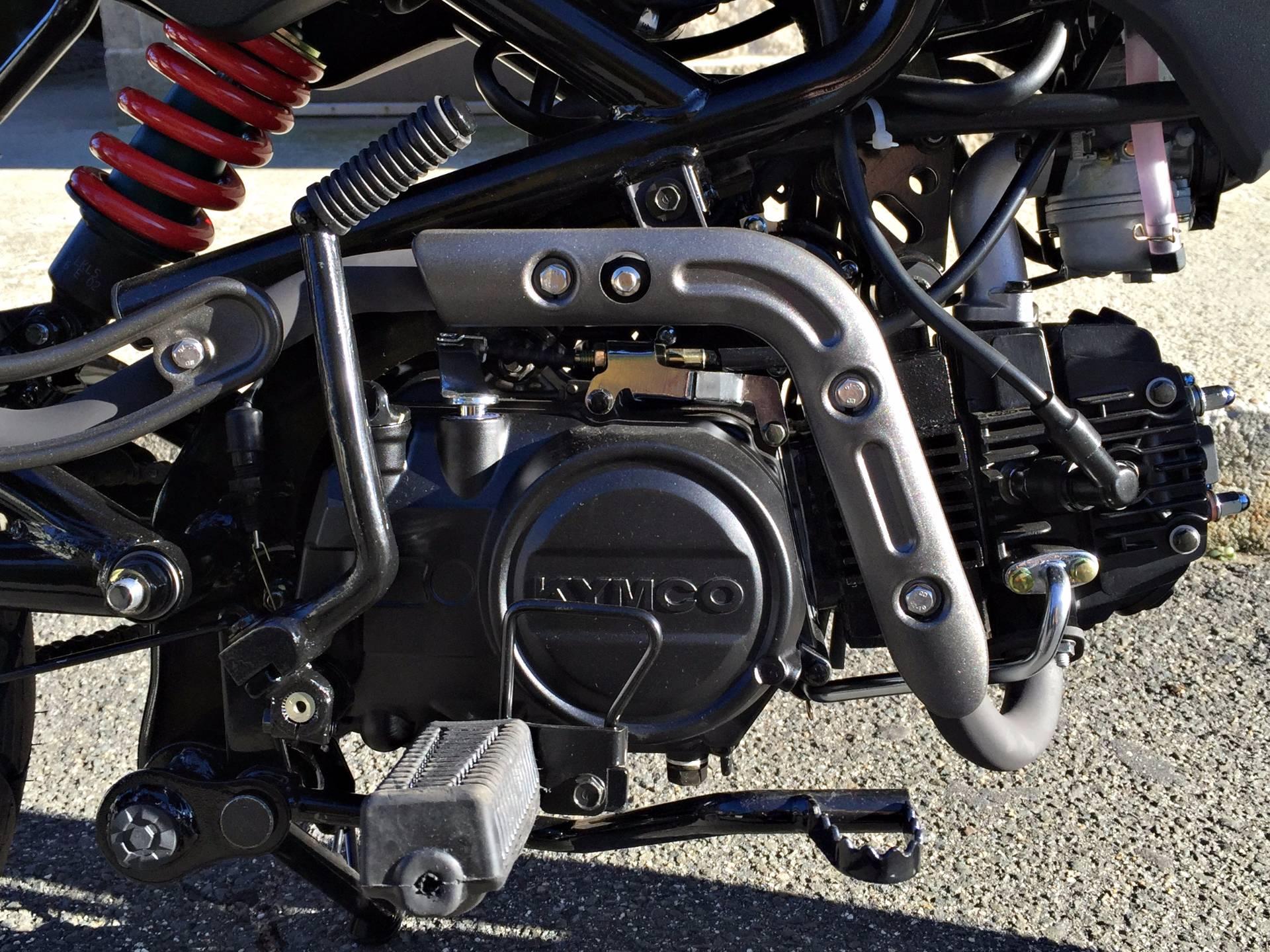 new 2017 kymco k-pipe 125 in black motorcycles in enfield, ct