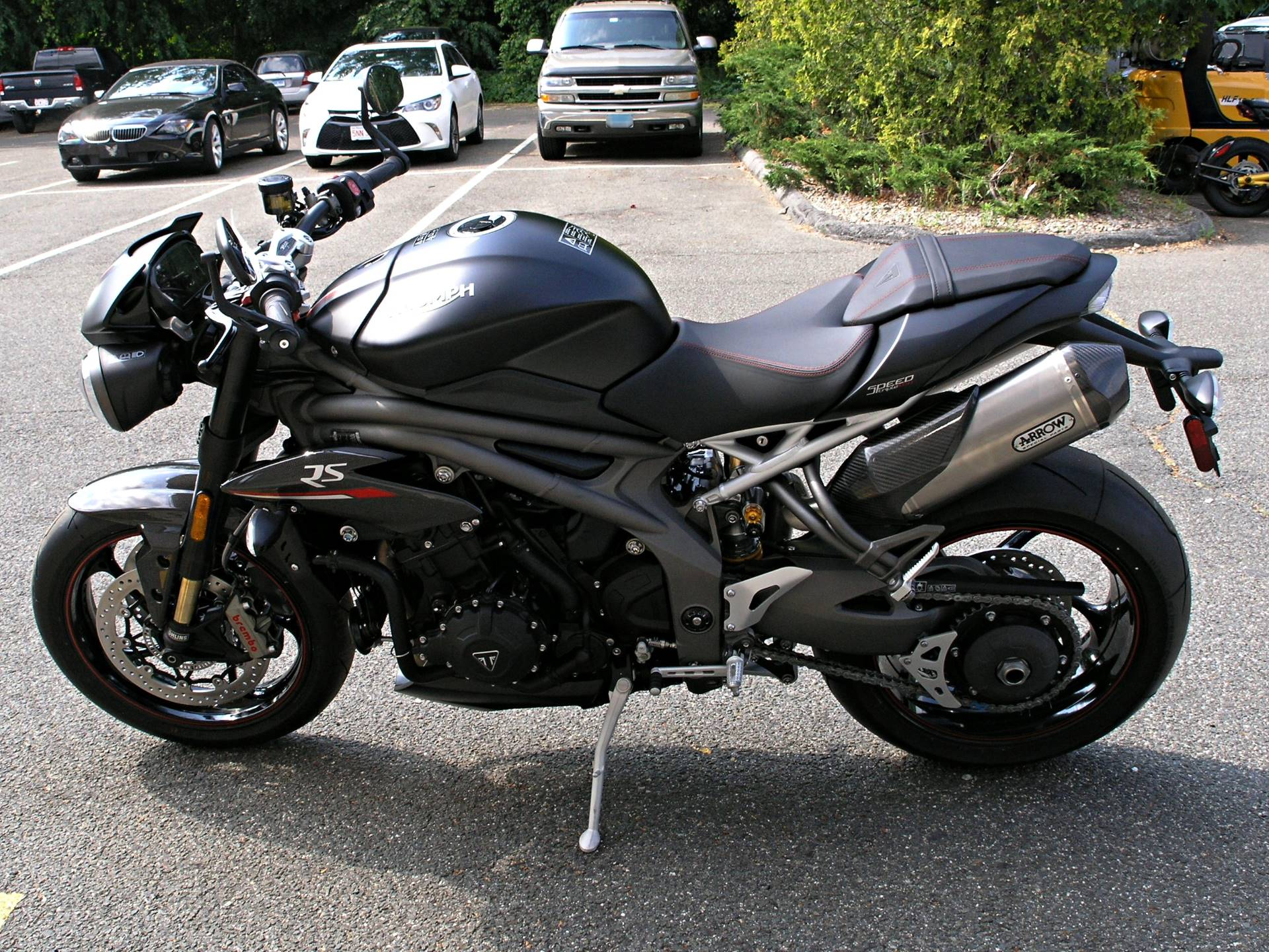 2019 Triumph Speed Triple RS in Enfield, Connecticut - Photo 4