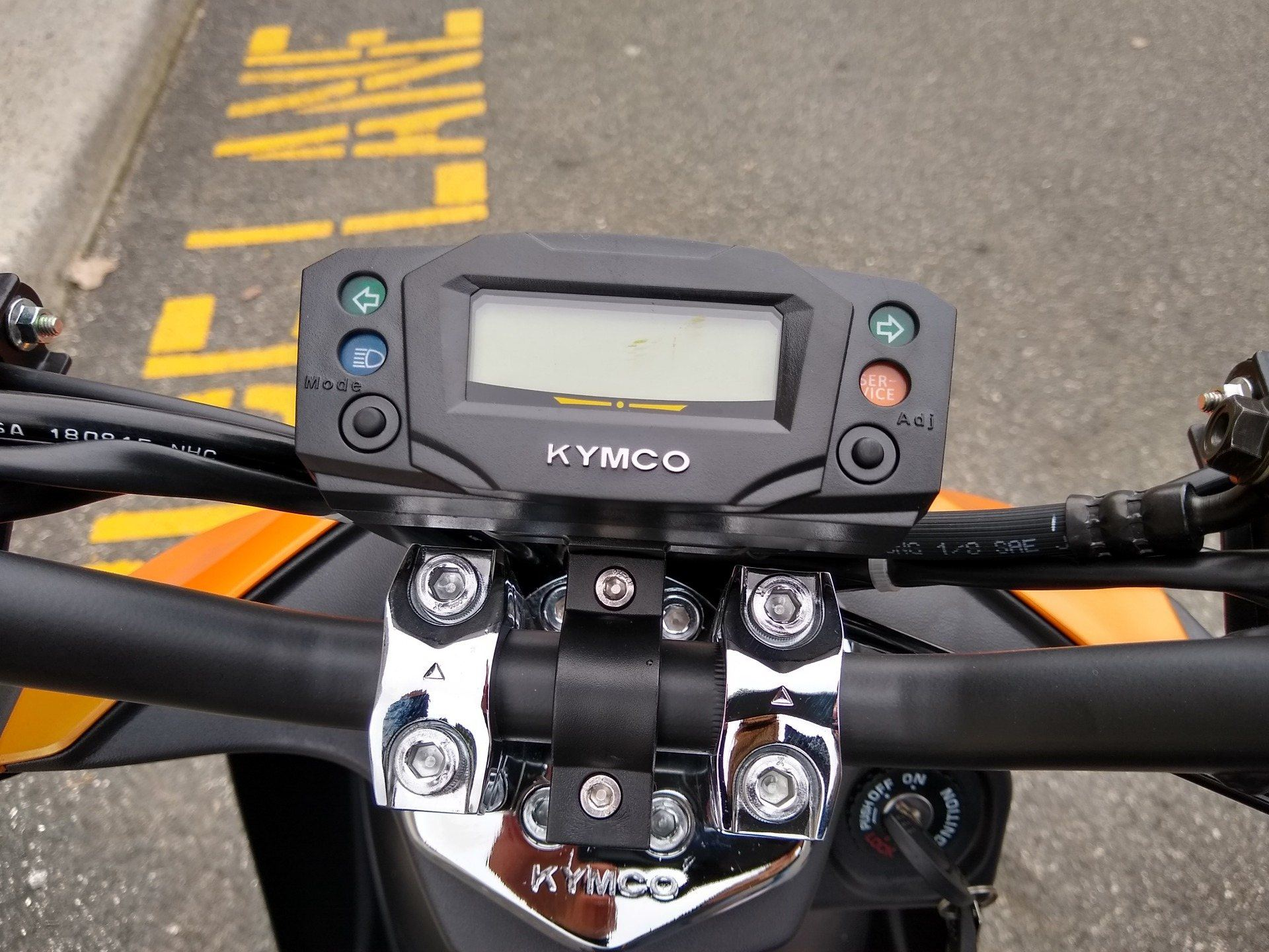 2019 Kymco Super 8 50X in Enfield, Connecticut - Photo 18