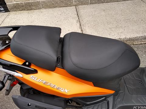 2019 Kymco Super 8 50X in Enfield, Connecticut - Photo 8