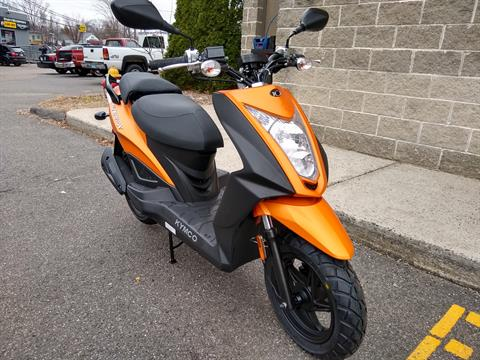 2019 Kymco Super 8 50X in Enfield, Connecticut - Photo 1