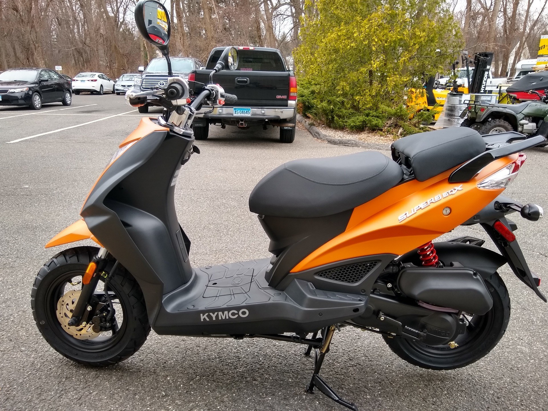 2019 Kymco Super 8 50X in Enfield, Connecticut - Photo 3
