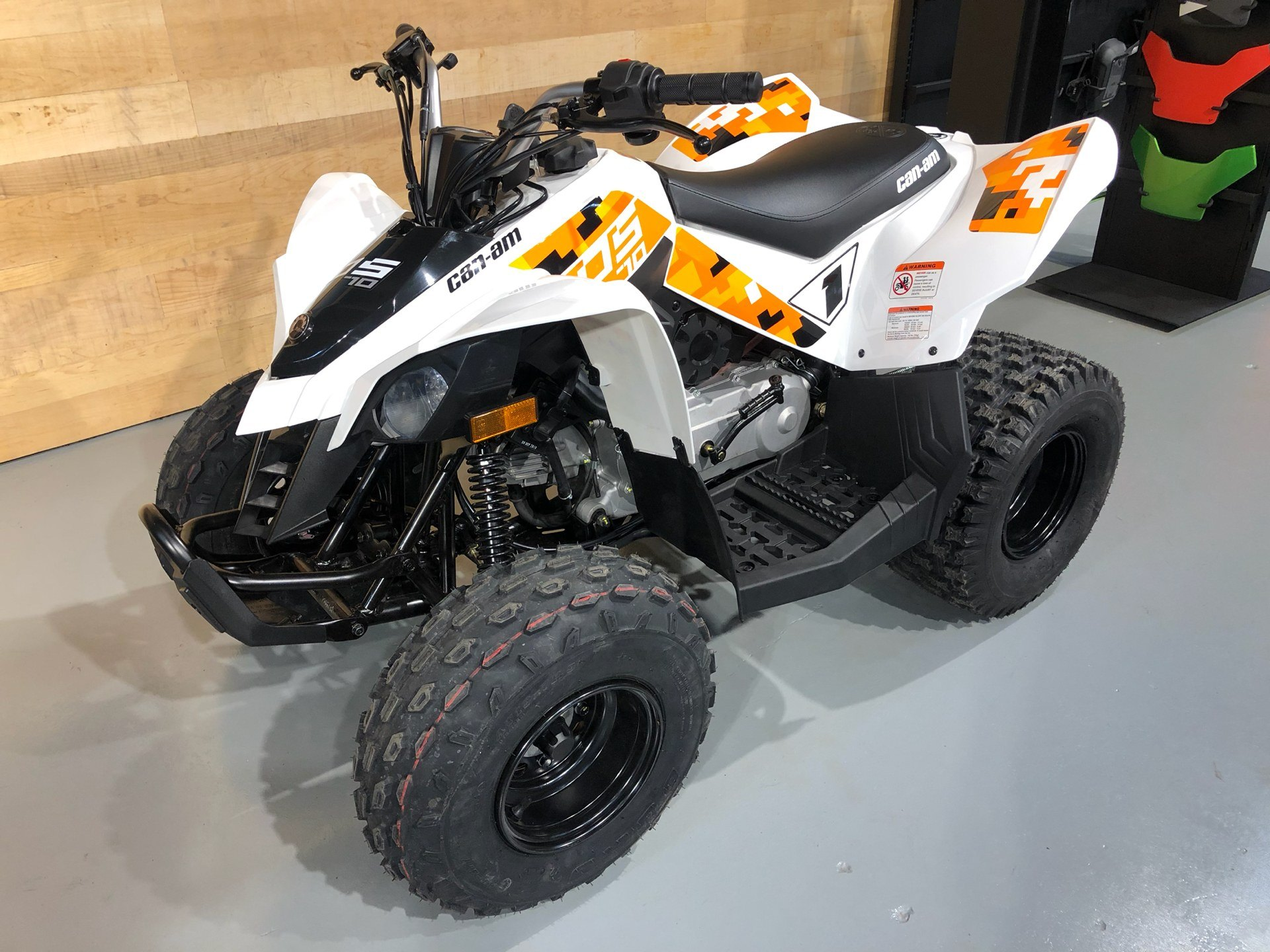2020 Can-Am DS 70 in Enfield, Connecticut - Photo 3