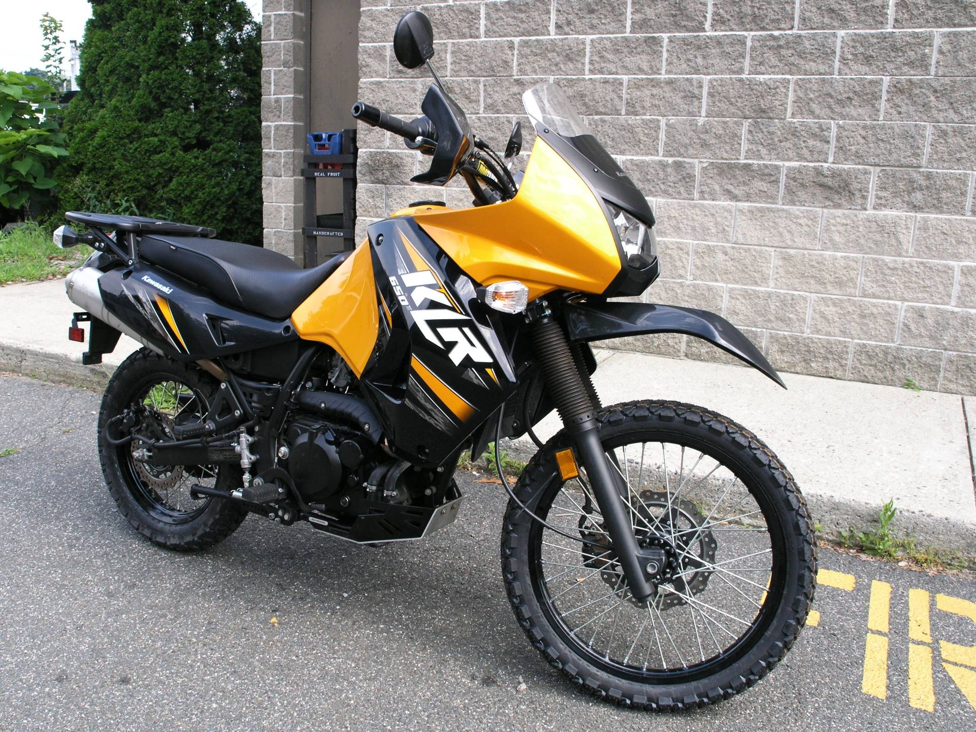 2013 Kawasaki KLR™650 in Enfield, Connecticut