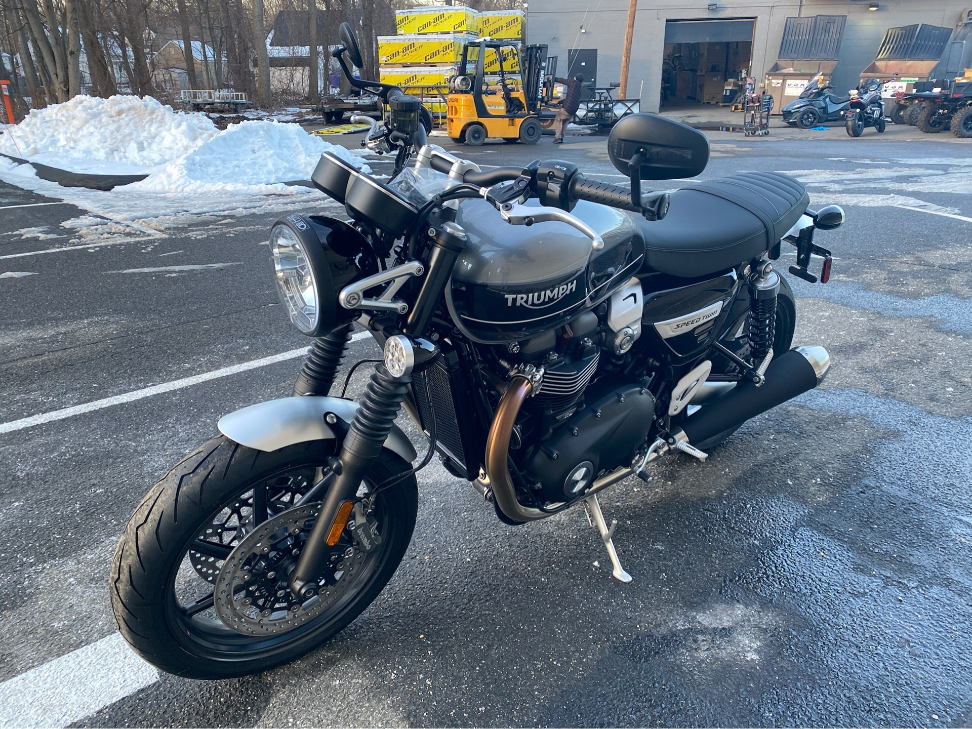 2020 Triumph Speed Twin 1200 in Enfield, Connecticut - Photo 8