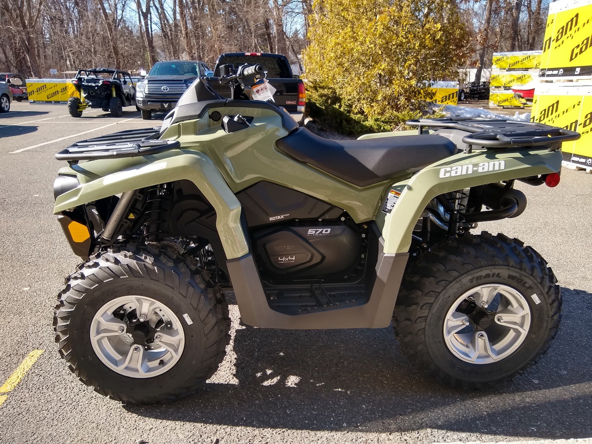 2019 Can-Am Outlander DPS 570 in Enfield, Connecticut - Photo 4
