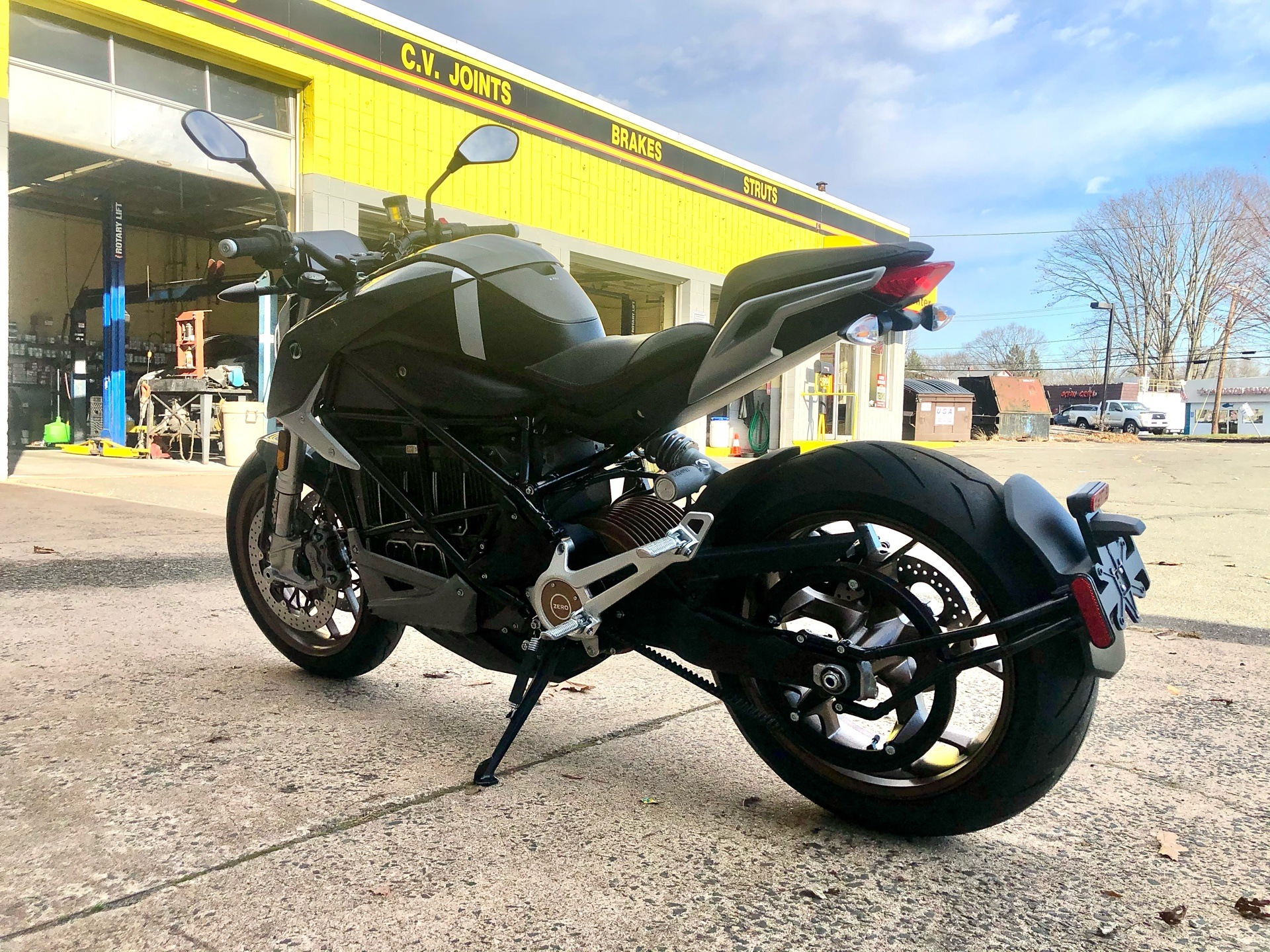 2021 Zero Motorcycles SR/F NA ZF14.4 Premium in Enfield, Connecticut - Photo 4