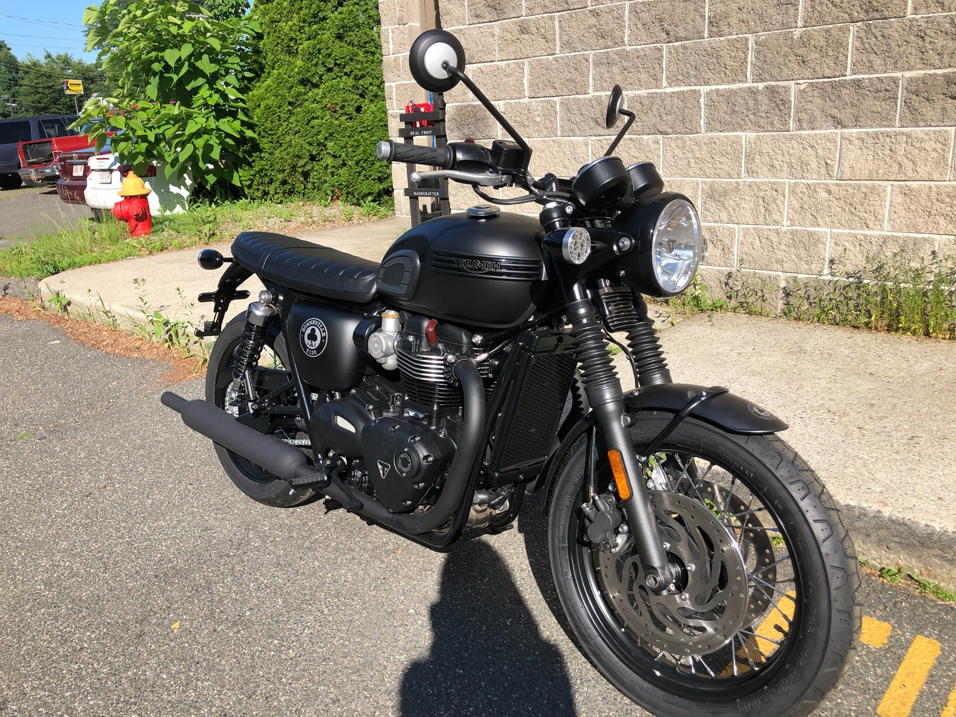 2020 Triumph Bonneville T120 ACE in Enfield, Connecticut - Photo 1