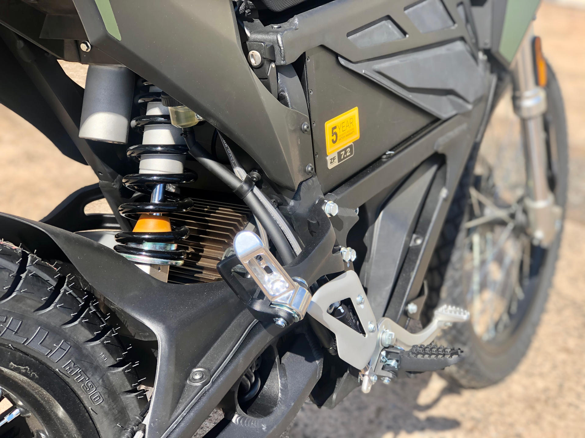 2021 Zero Motorcycles FX ZF7.2 Integrated in Enfield, Connecticut - Photo 10