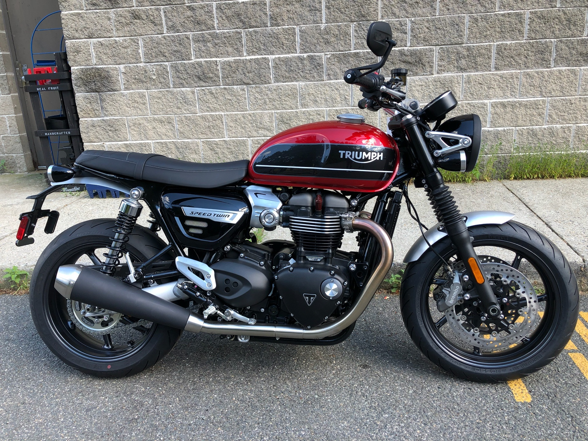 2019 Triumph Bonneville Speed Twin in Enfield, Connecticut - Photo 2