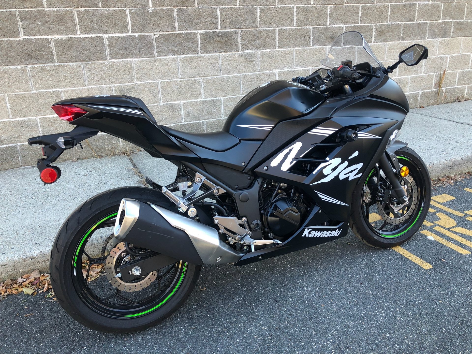 2017 Kawasaki Ninja 300 ABS Winter Test Edition in Enfield, Connecticut - Photo 4