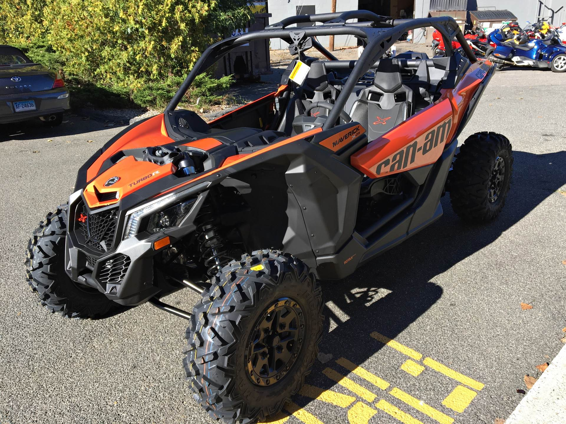 2019 Can-Am Maverick X3 X ds Turbo R in Enfield, Connecticut - Photo 7