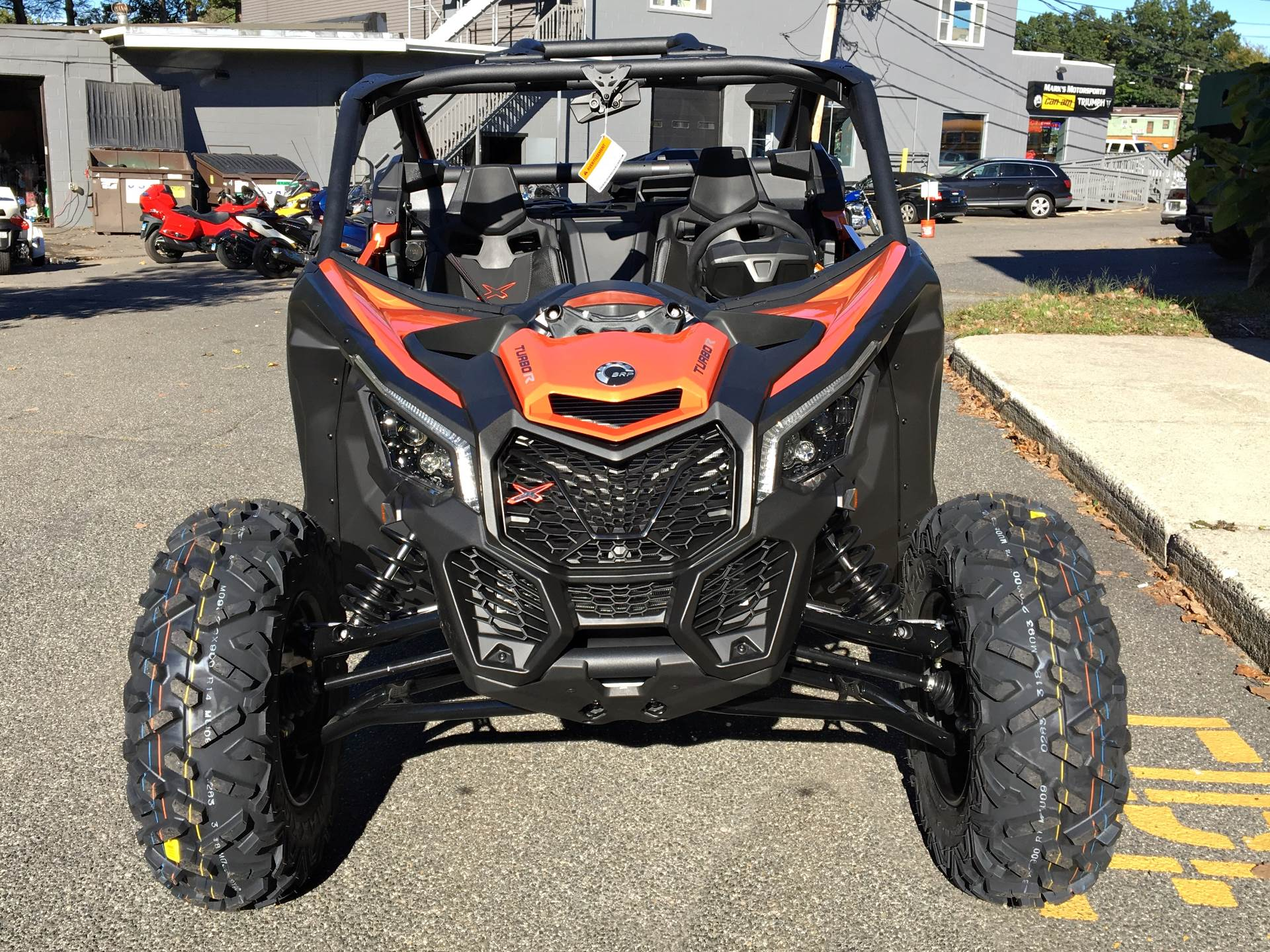 2019 Can-Am Maverick X3 X ds Turbo R in Enfield, Connecticut - Photo 8