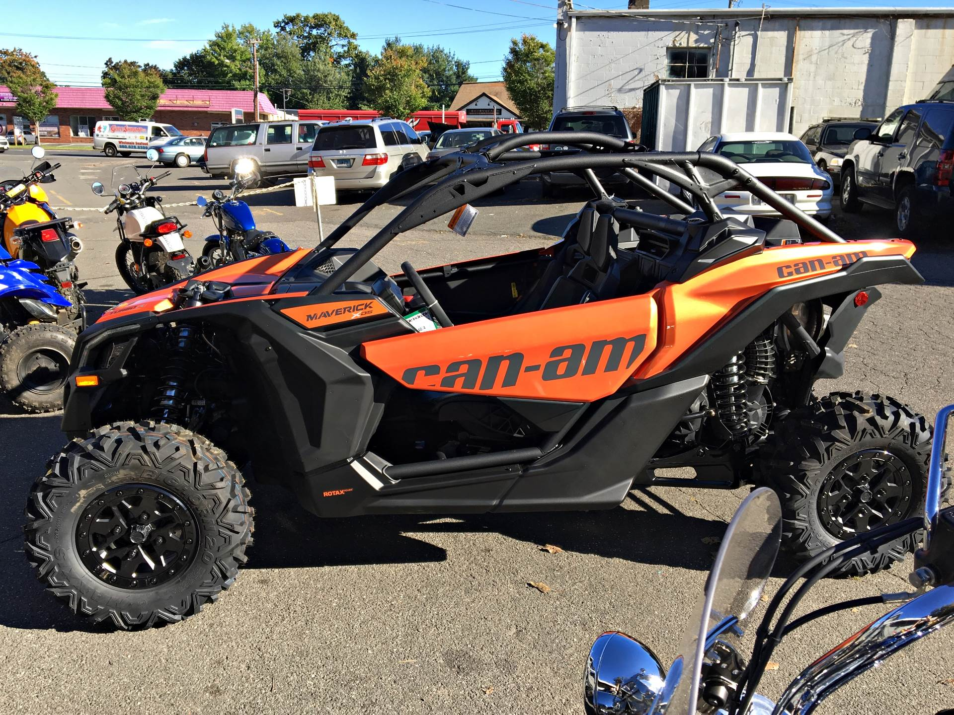 2019 Can-Am Maverick X3 X ds Turbo R in Enfield, Connecticut - Photo 6