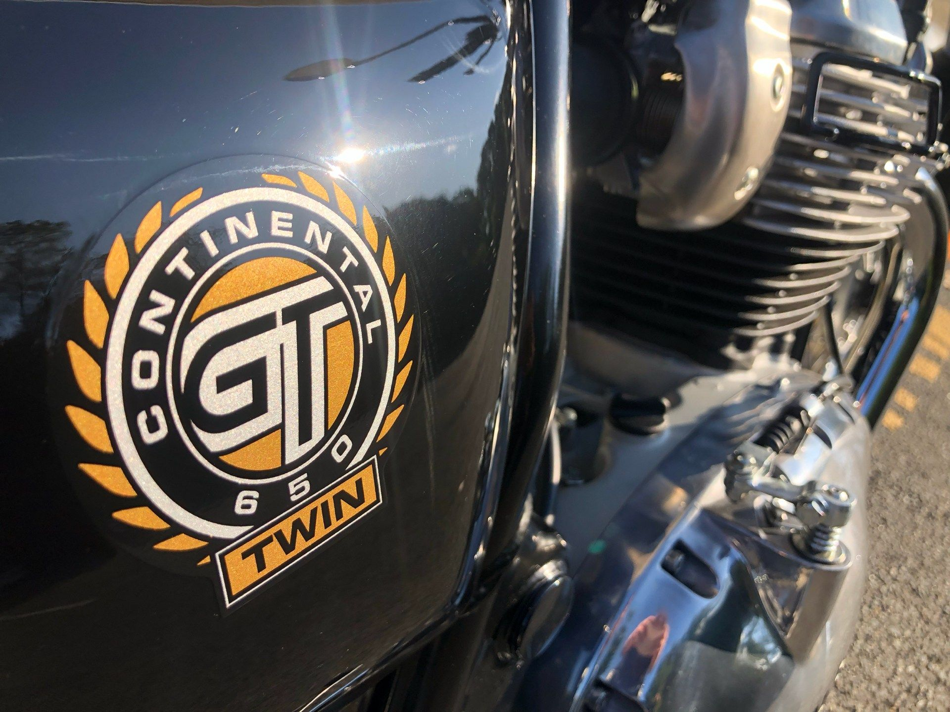 2019 Royal Enfield Continental GT 650 in Enfield, Connecticut - Photo 17
