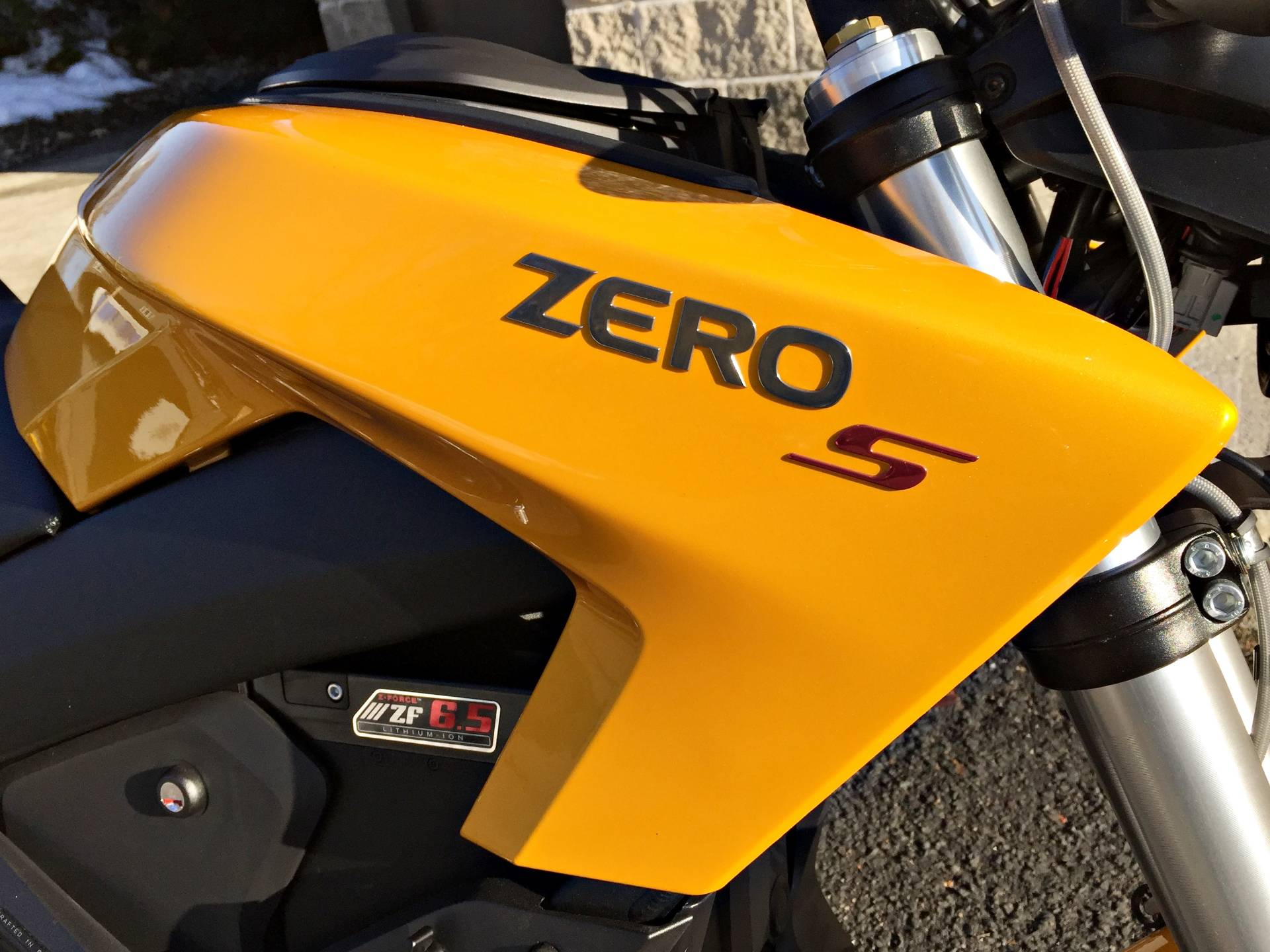 2017 Zero Motorcycles S ZF6.5 in Enfield, Connecticut