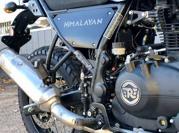 2021 Royal Enfield Himalayan 411 EFI ABS in Enfield, Connecticut - Photo 13