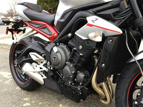 2018 Triumph Street Triple R Low in Enfield, Connecticut