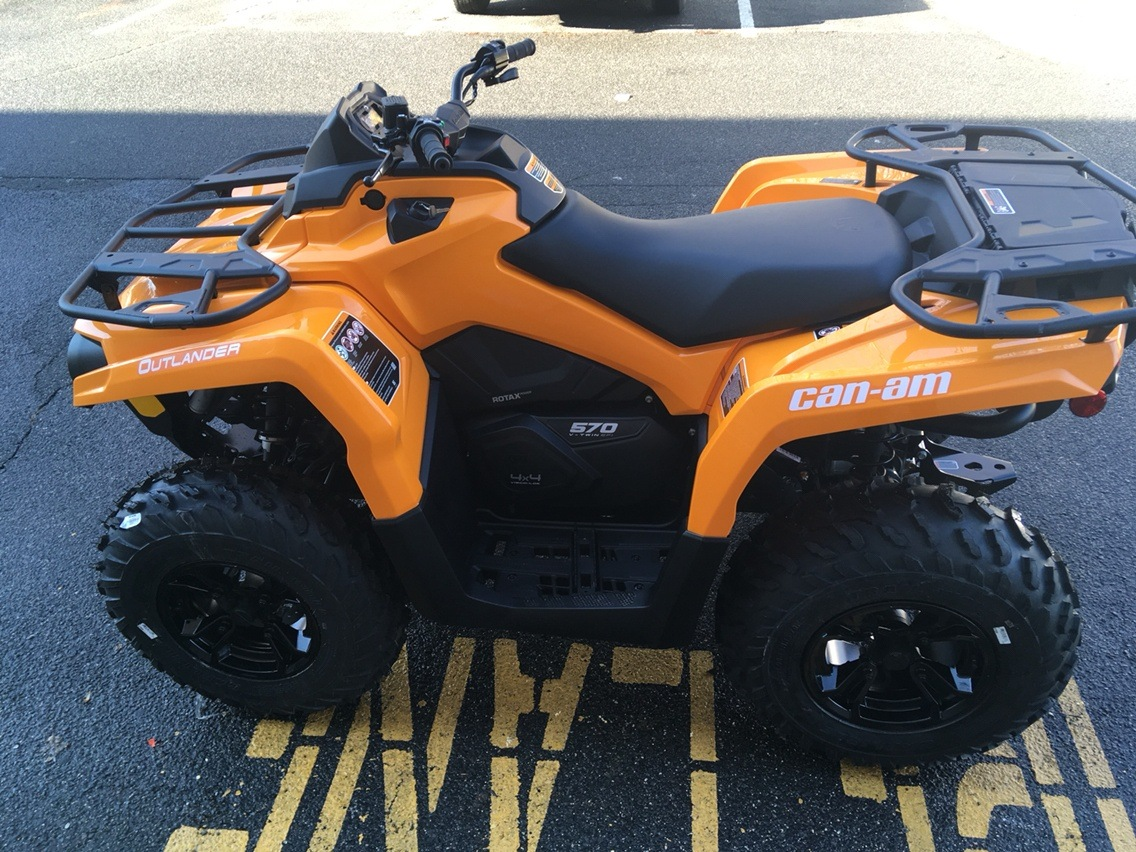 2019 Can-Am Outlander DPS 570 in Enfield, Connecticut - Photo 7
