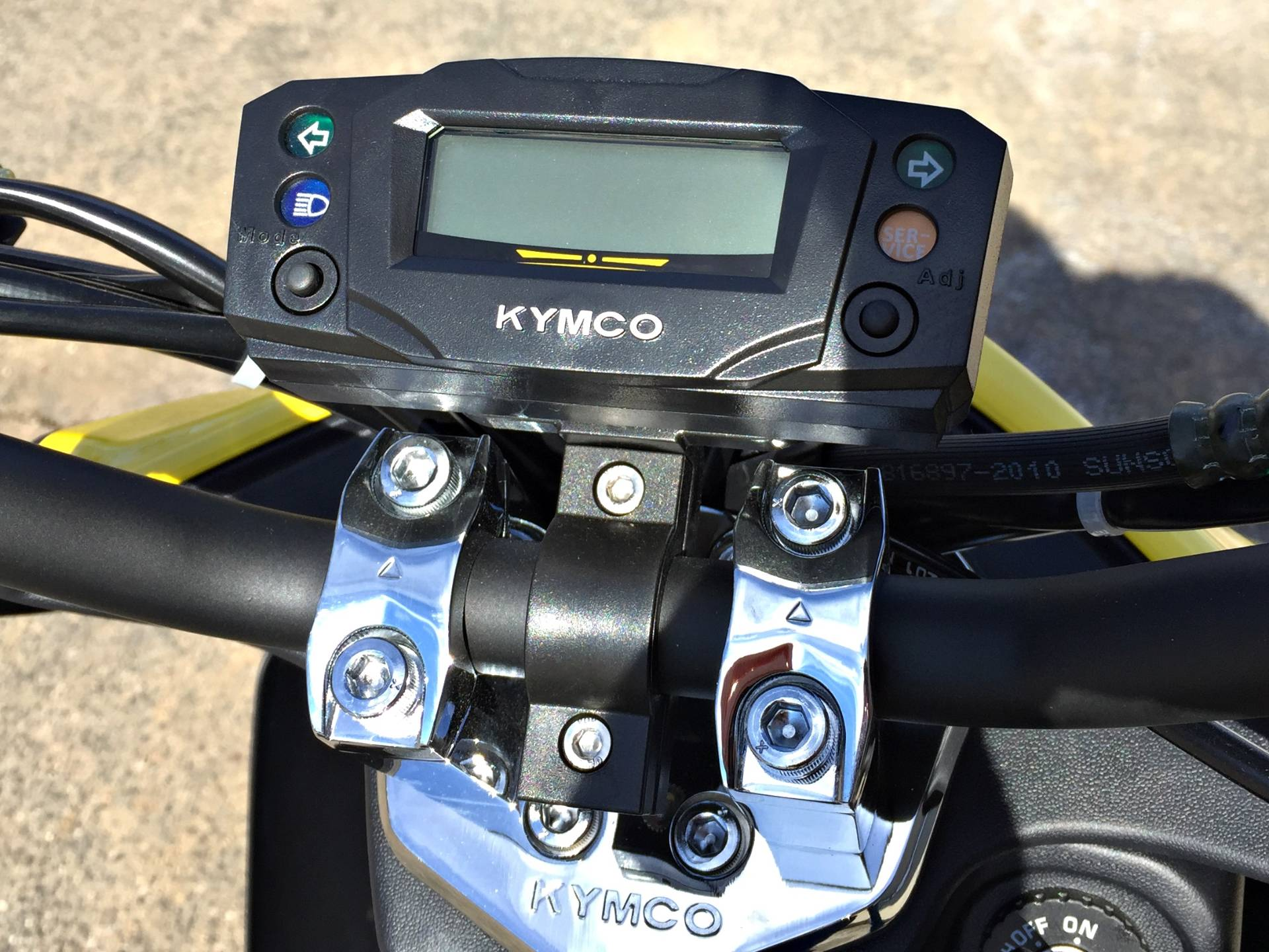 2017 Kymco Super 8 50X in Enfield, Connecticut