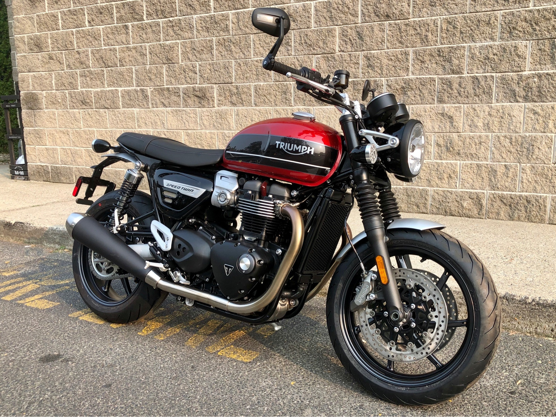 New 2020 Triumph Speed Twin Motorcycles In Enfield Ct Stock Number N A