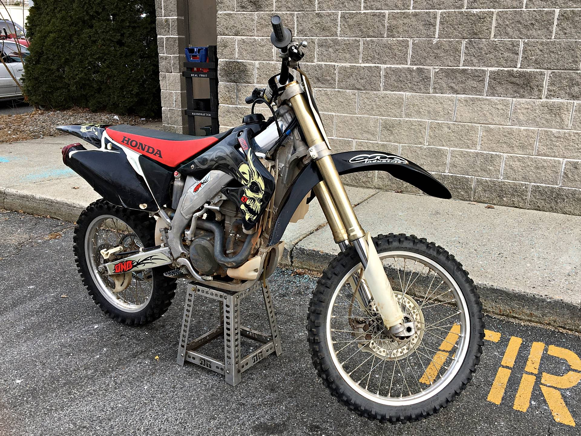 2004 Honda CRF450R in Enfield, Connecticut - Photo 1