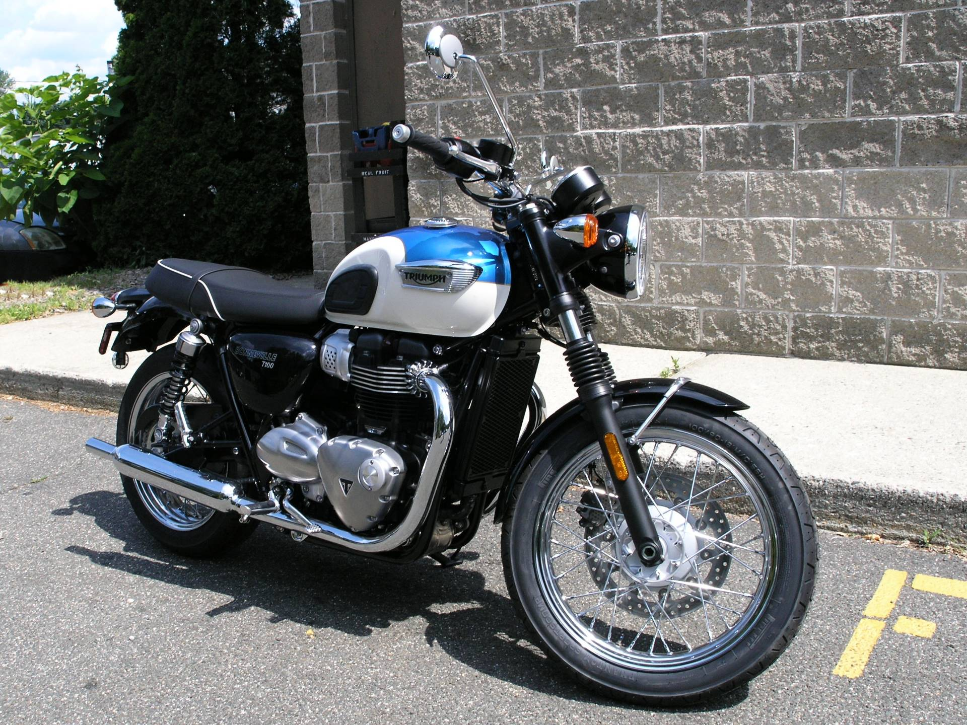 New 2018 Triumph Bonneville T100 Motorcycles In Enfield Ct Stock