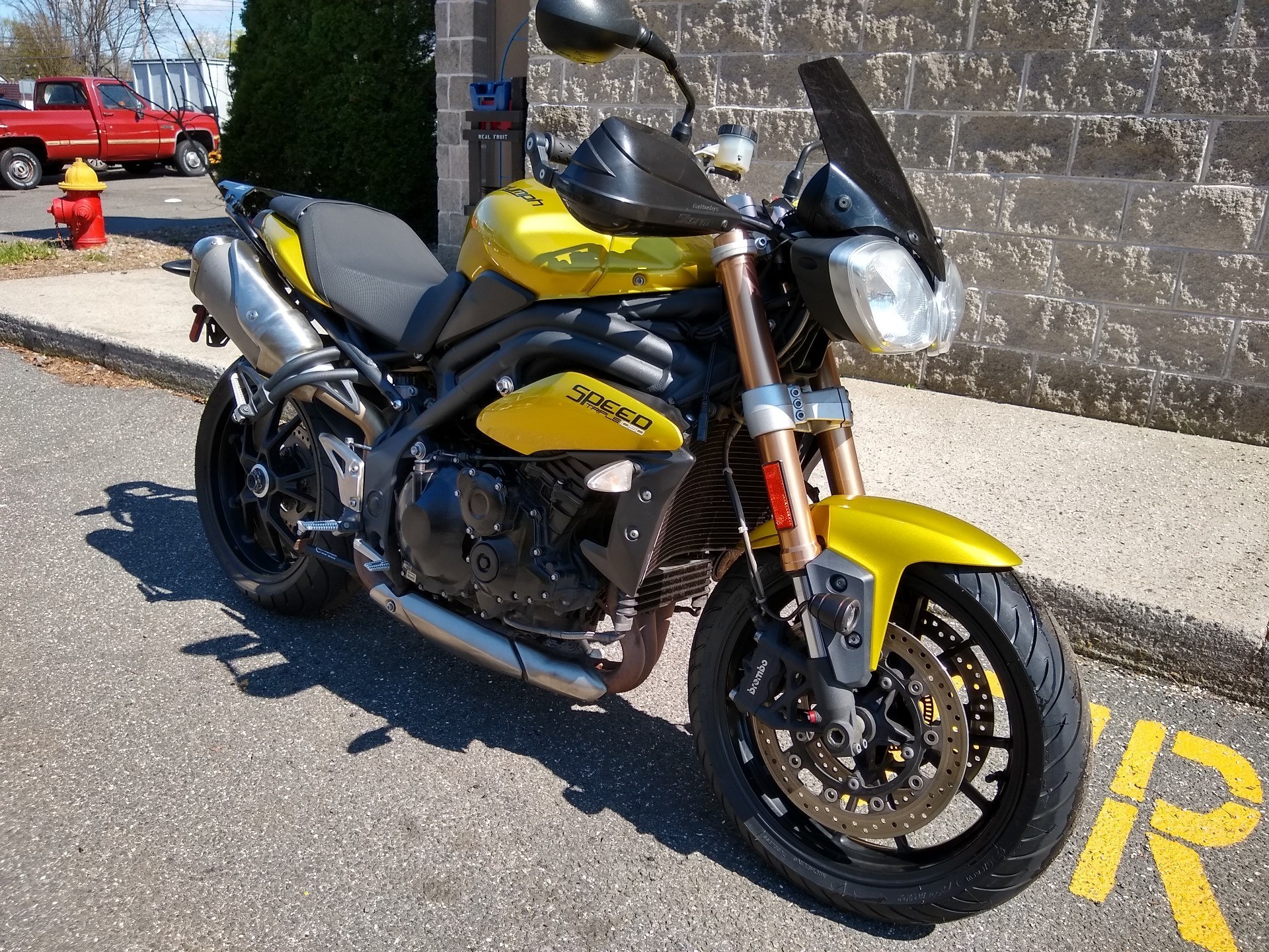 2013 Triumph Speed Triple ABS in Enfield, Connecticut - Photo 1