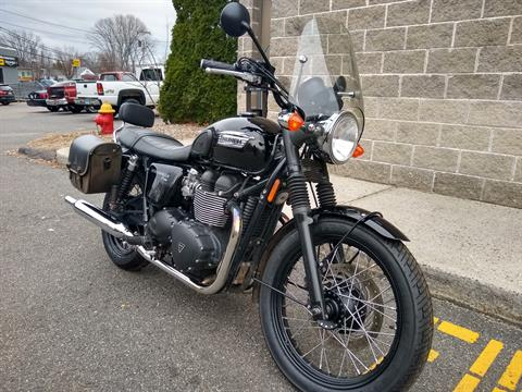 2015 Triumph Bonneville T100 Black in Enfield, Connecticut