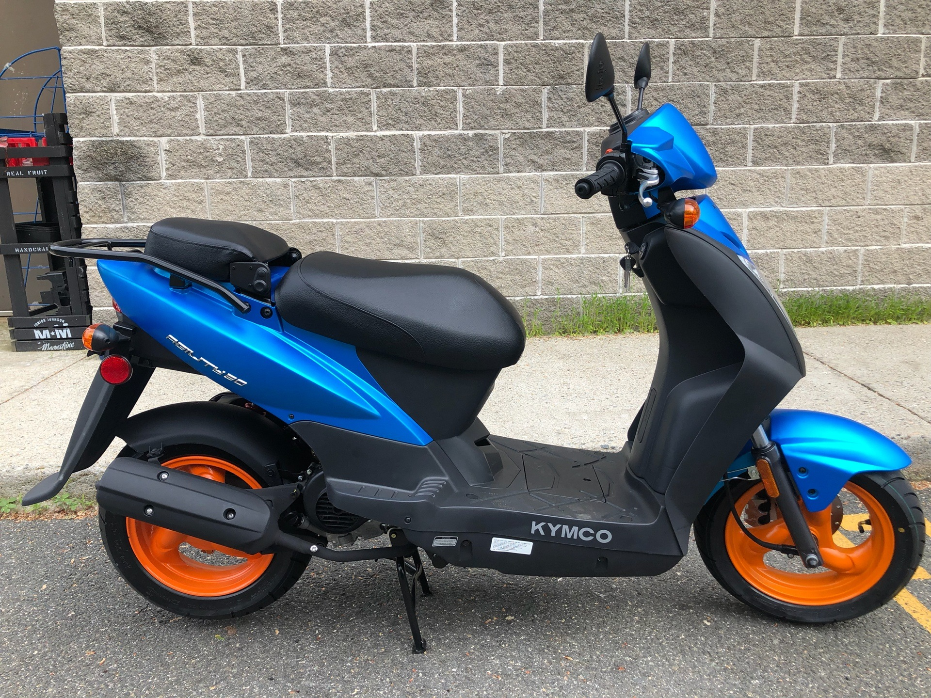 2019 Kymco Agility 50 in Enfield, Connecticut - Photo 2
