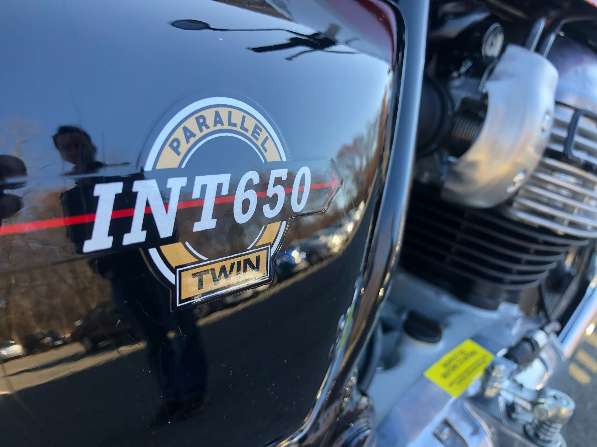 2020 Royal Enfield INT650 in Enfield, Connecticut - Photo 13