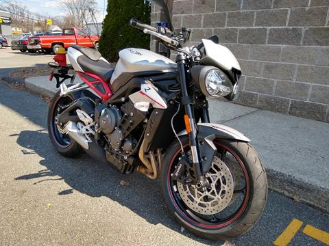 2019 Triumph Street Triple R LRH in Enfield, Connecticut - Photo 1