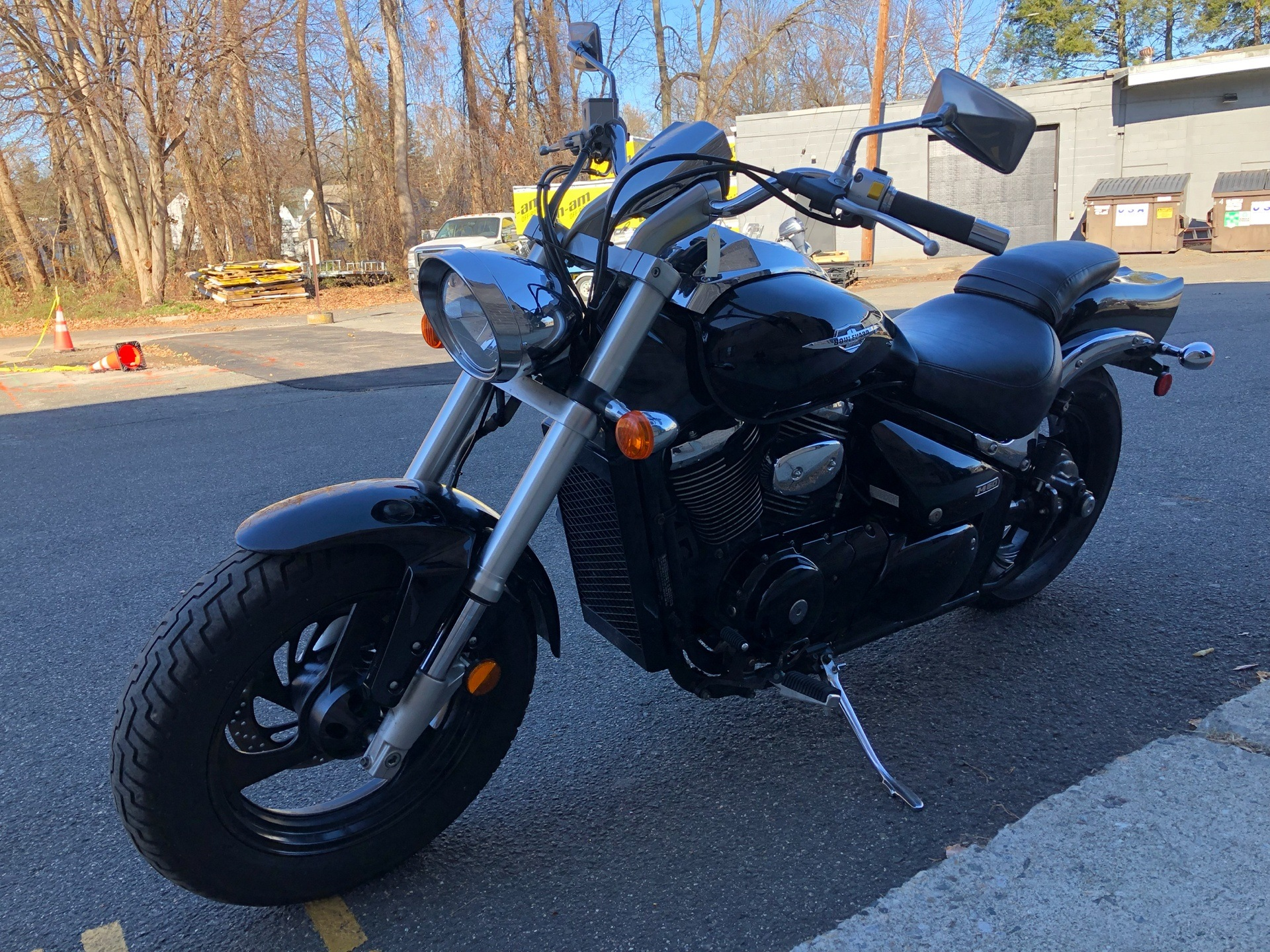 2005 Suzuki Boulevard M50 Black in Enfield, Connecticut - Photo 8