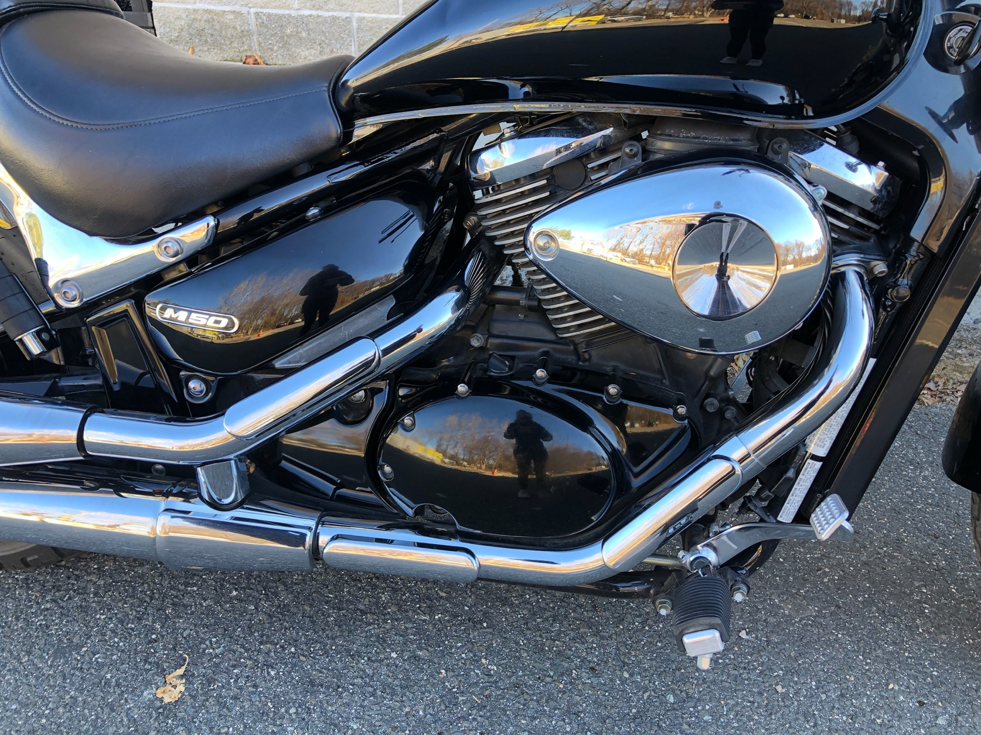2005 Suzuki Boulevard M50 Black in Enfield, Connecticut - Photo 14