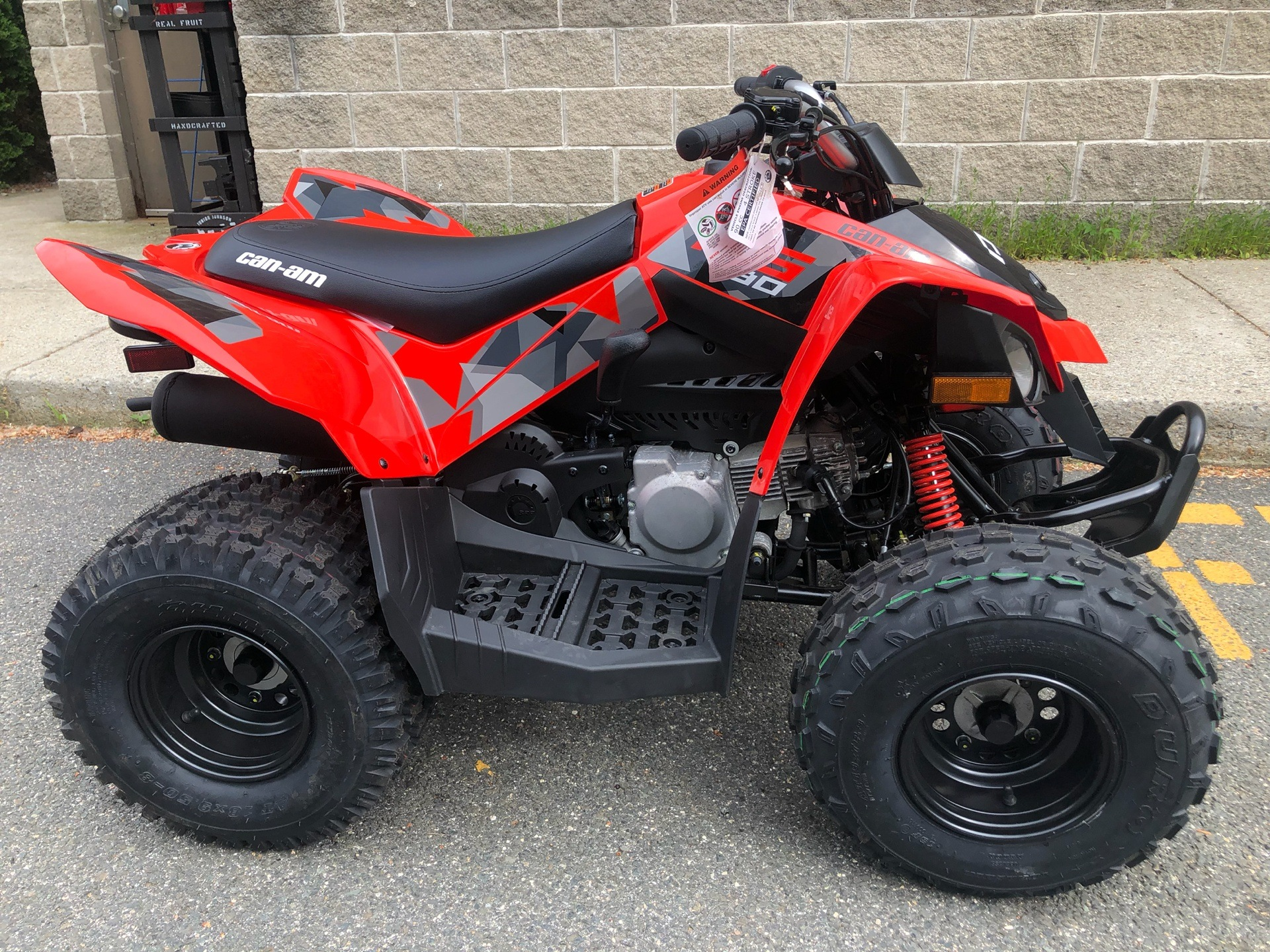 2019 Can-Am DS 90 in Enfield, Connecticut - Photo 2