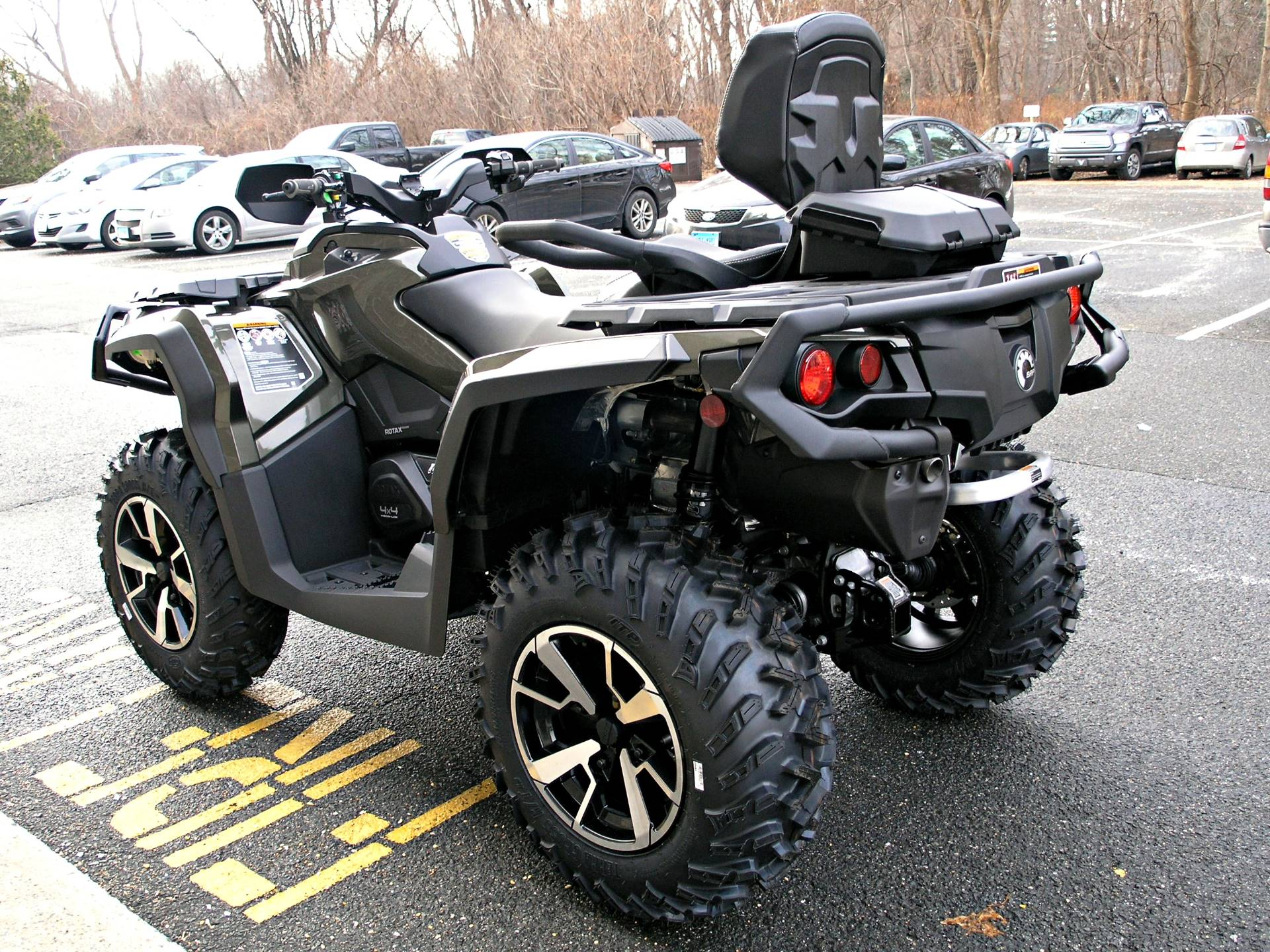 2019 Can-Am Outlander MAX Limited 1000R in Enfield, Connecticut - Photo 5