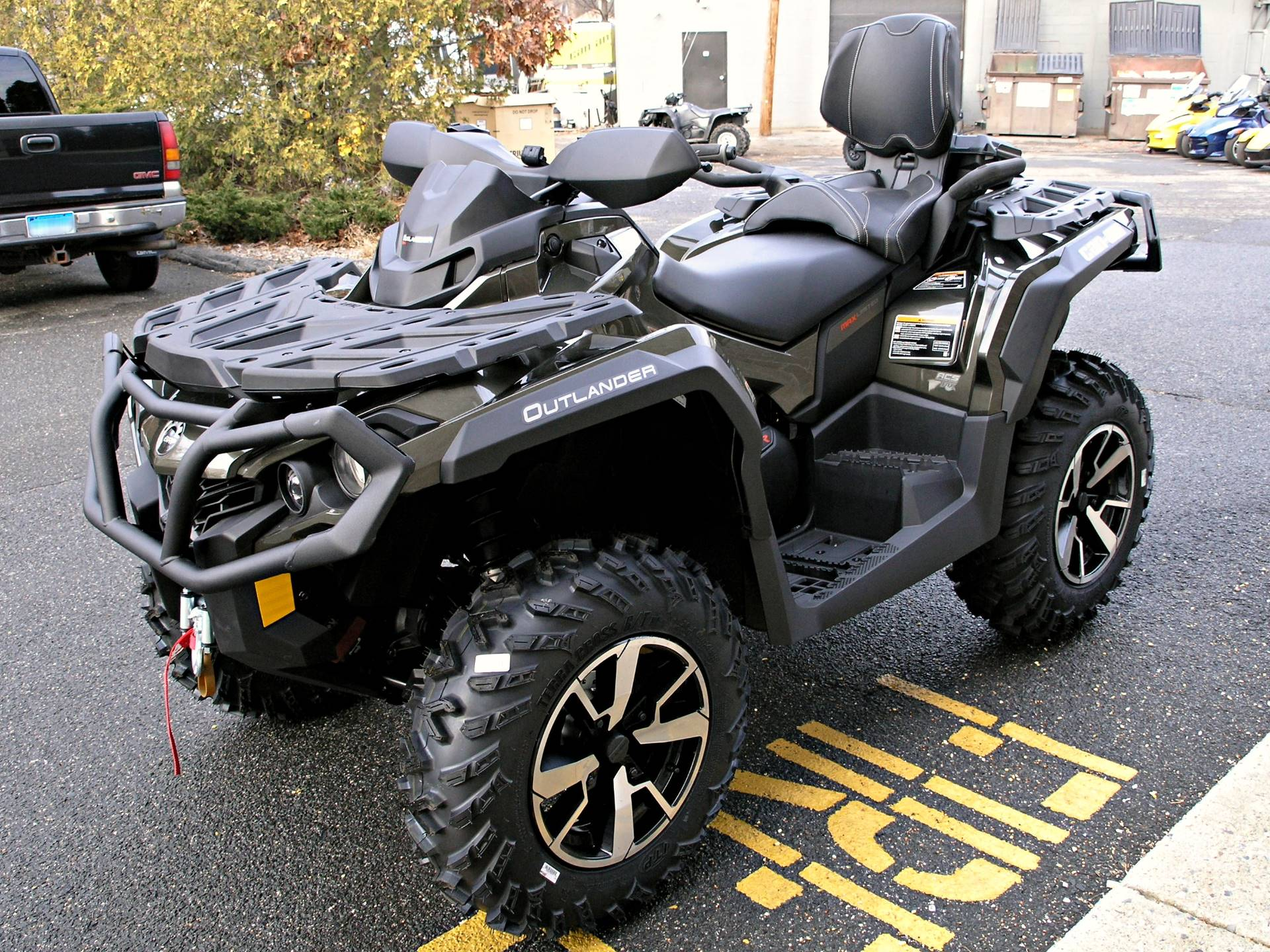 2019 Can-Am Outlander MAX Limited 1000R in Enfield, Connecticut - Photo 7