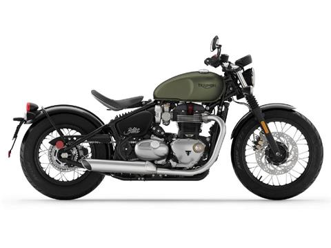 2019 Triumph Bonneville Bobber in Enfield, Connecticut