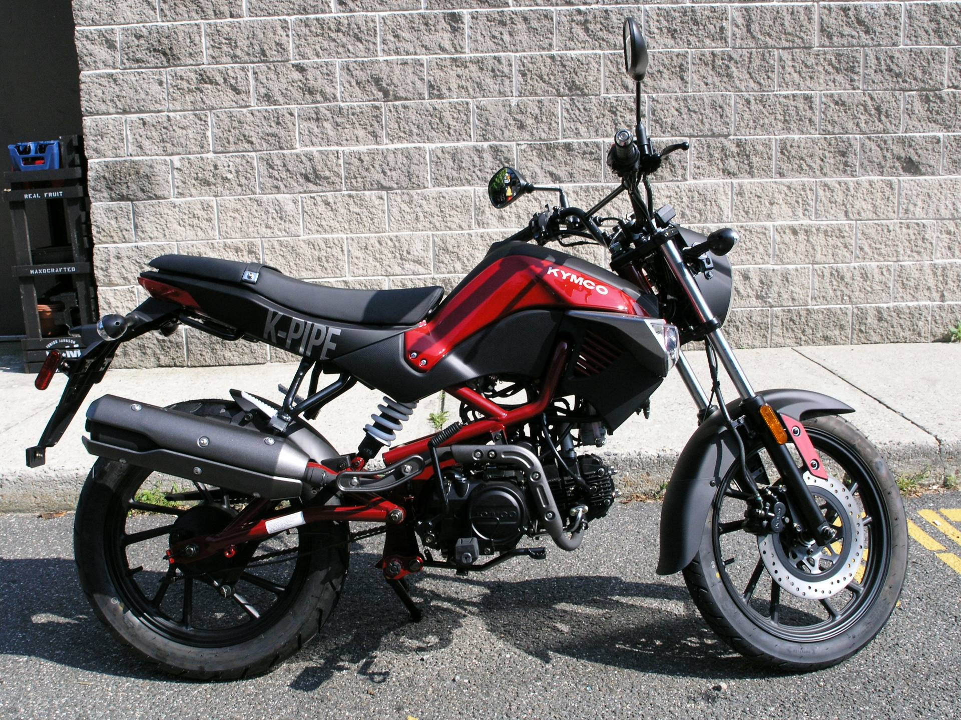 2017 Kymco K-Pipe 125 in Enfield, Connecticut - Photo 2