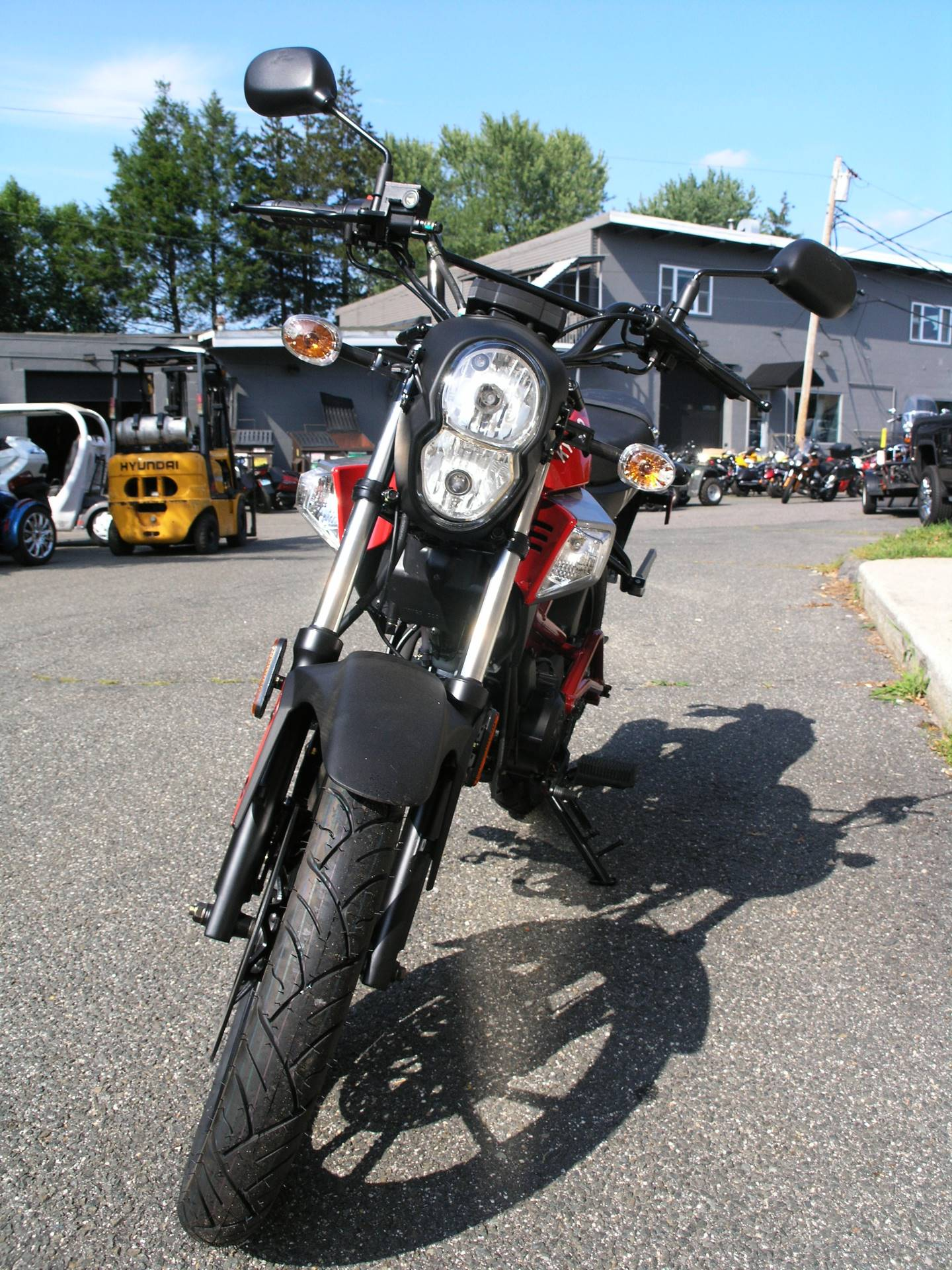 2017 Kymco K-Pipe 125 in Enfield, Connecticut - Photo 8