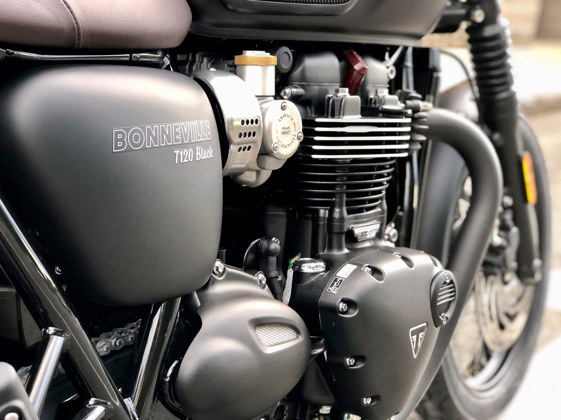2020 Triumph Bonneville T120 Black in Enfield, Connecticut - Photo 8