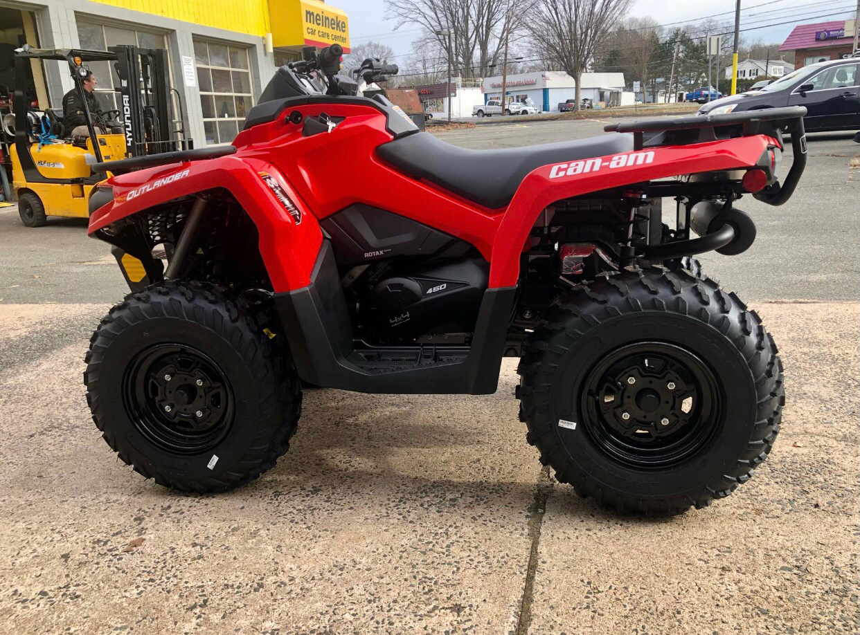 2021 Can-Am Outlander 450 in Enfield, Connecticut - Photo 5