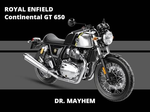 2018 Royal Enfield Continental GT 650 in Enfield, Connecticut